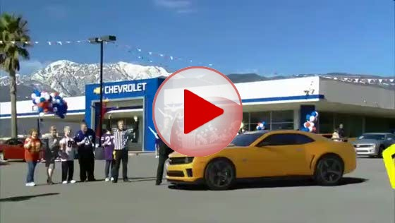 chevrolet camaro superbowl 2011